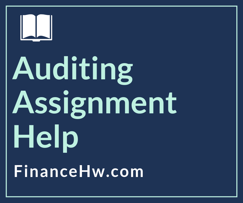 Auditing homework help