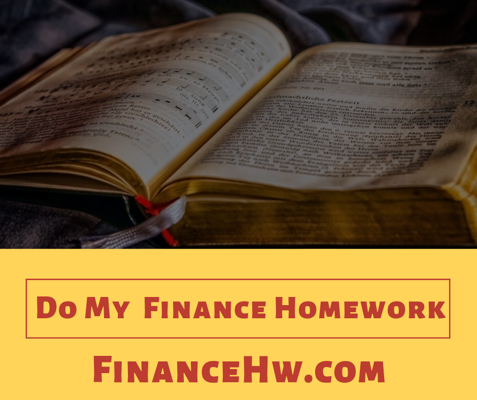 Do My Finance Homework